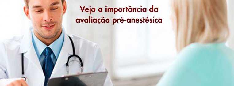 avaliacao pre anestesica