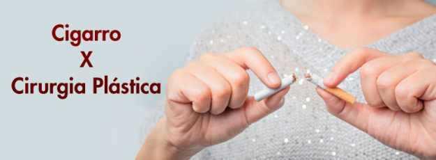 cigarro cirurgia plástica