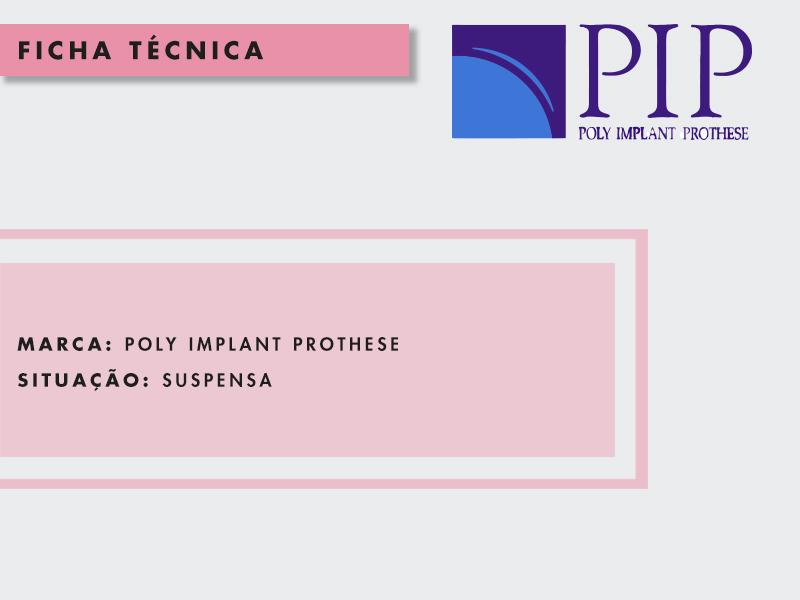 protese silicone pip
