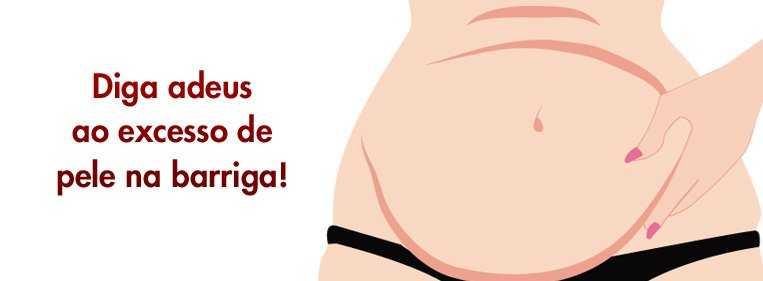 excesso pele barriga