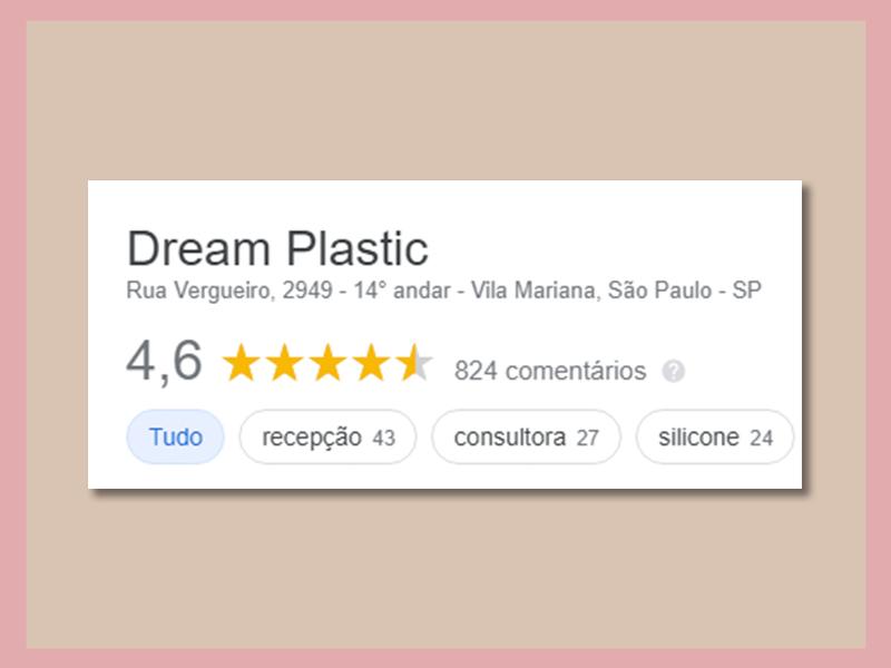 recomendacoes dream plastic google