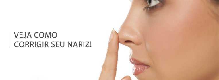 correção nariz