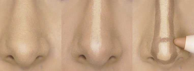 nariz feio