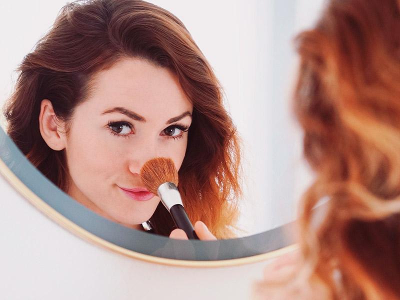diminuir nariz maquiagem