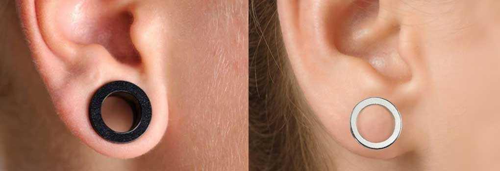 como diminuir o furo da orelha