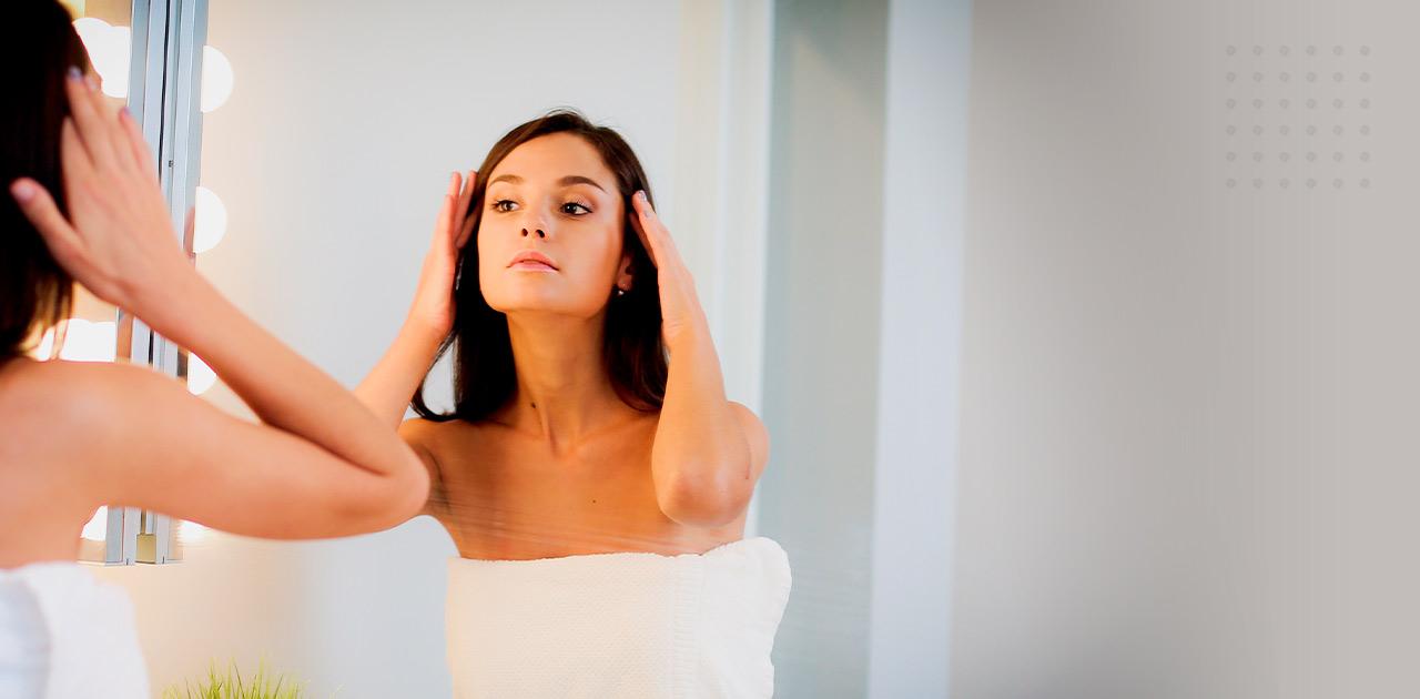 aplicação de ácido hialurônico no rosto