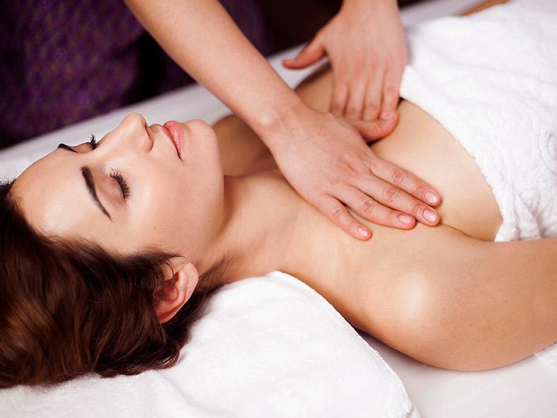massagem para aumentar seios