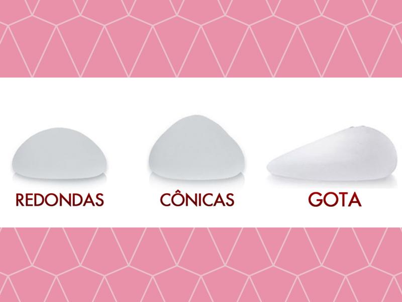 tipos protese silicone