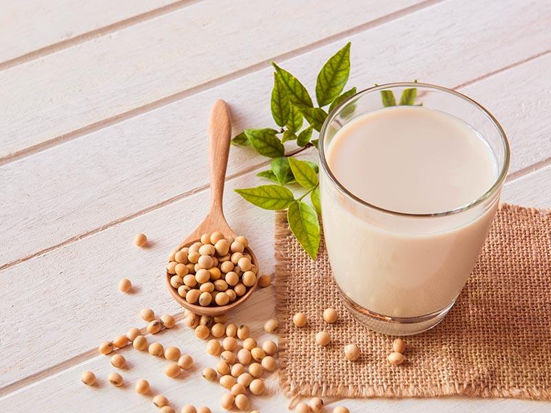 leite soja aumenta seios