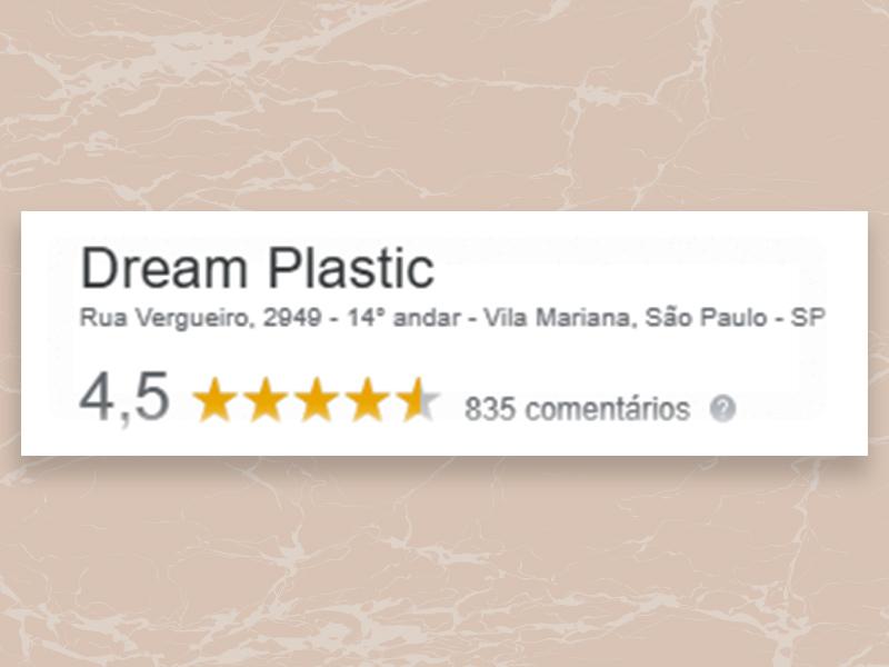 recomendacoes dream plastic