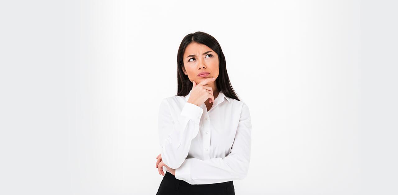 mulher pensando sindrome asia