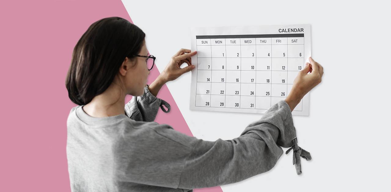 mulher calendario quanto tempo retoque