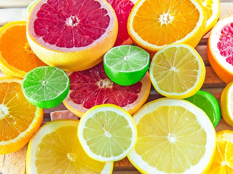 frutas citricas para barriga