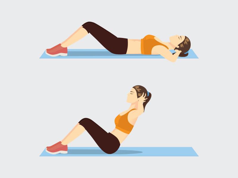 exercicio abdominal eliminar barriga
