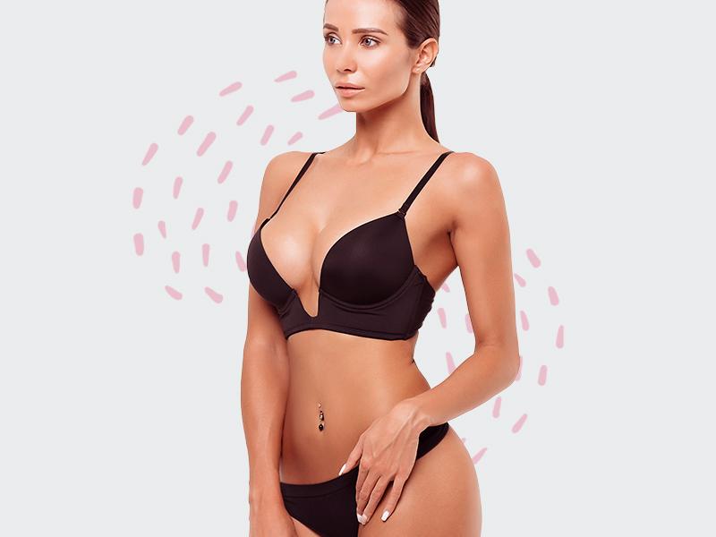 abdominoplastia lipo silicone mulher