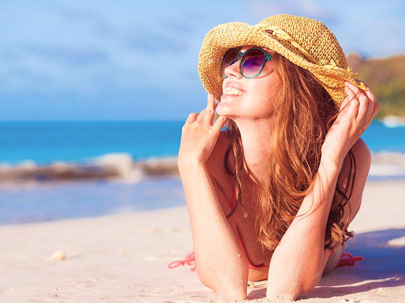tomar sol apos lipoaspiracao