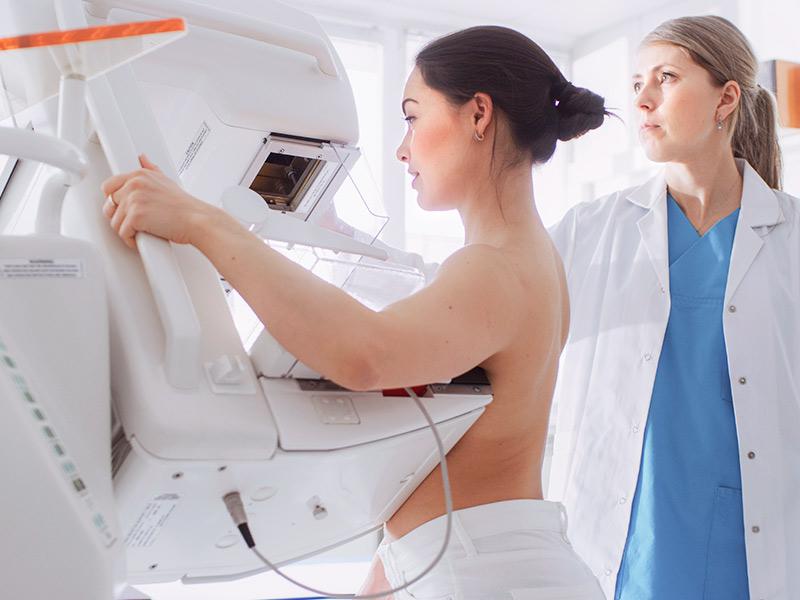 protese mama apos cancer exame