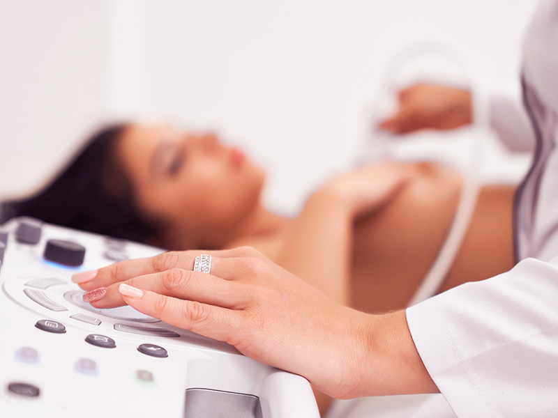ultrassom exame pré-operatório mamoplastia