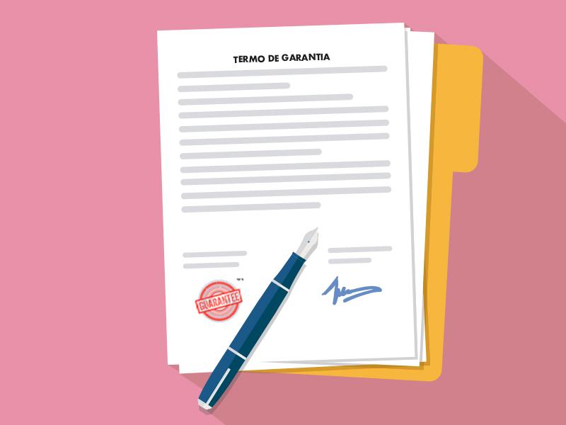 contrato garantia rejeição implante