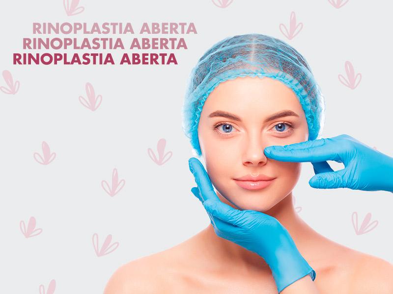 cirurgia rinoplastia aberta