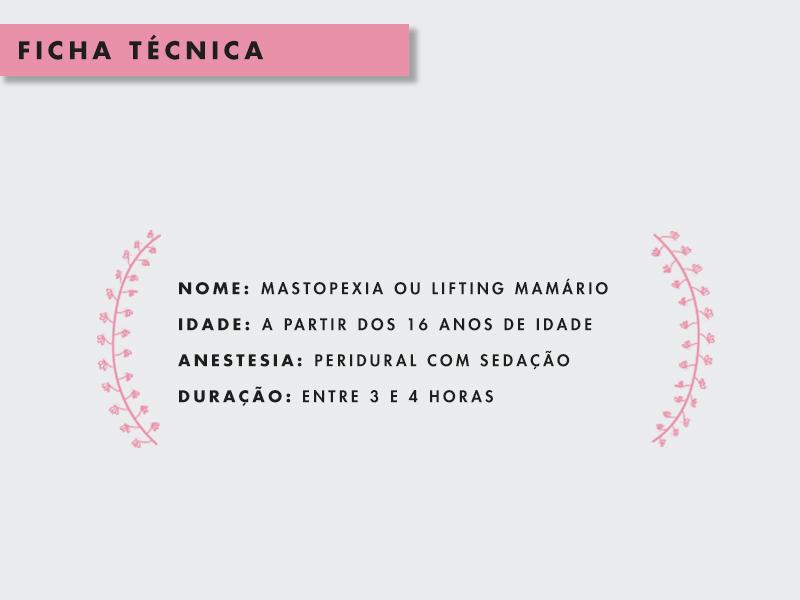 mastopexia cirurgia mama caida